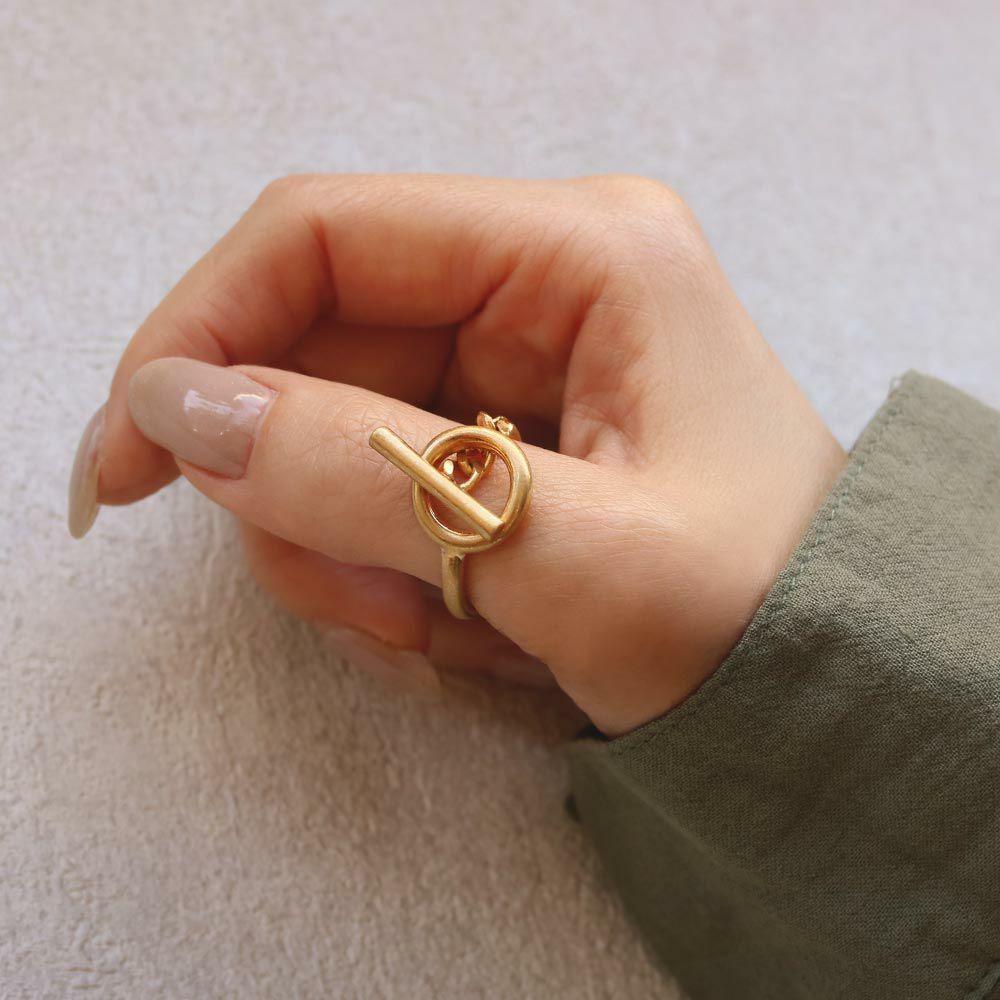 リング ニッケルフリー メタル マンテル 12号 指輪