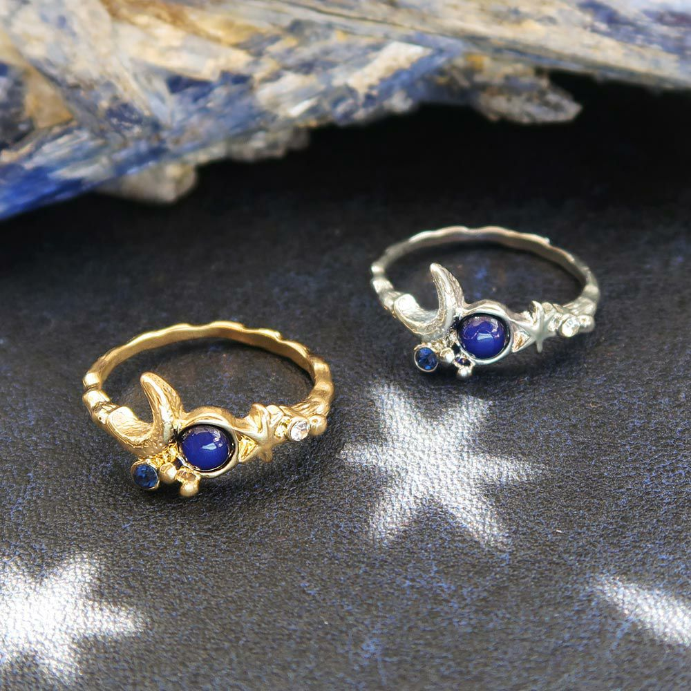 【OLGA】starry swing 煌めく小惑星 13号 リング 指輪 ニッケルフリー